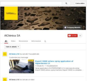 Alchimica Canale Youtube